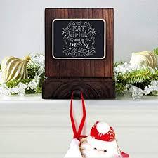 OurWarm DIY Chalkboard Christmas Stocking Hanger ... - Amazon.com
