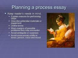 The Process Essay Summary amp Essay Writing What is a process A Planning a process essay