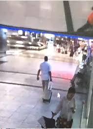 Valizim çalındı dedi, bir başkasının valizini çalıp gitti