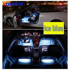 4pc <b>Auto</b> Red 9 <b>LED</b> Charger Interior Accessories <b>Car Foot</b> ...