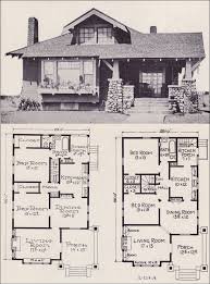 ideas about Bungalow Floor Plans on Pinterest   Bungalows     Craftsman style Bunglow House Plan   No  L    E  W  Stillwell