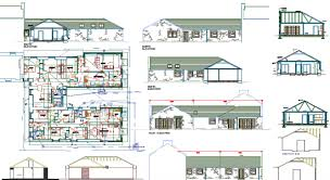 Autocad File  Single Storey House Plan