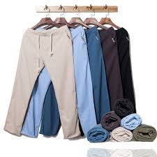 Large size Hot <b>Men's Casual</b> Pants <b>Loose</b> Straight Hair Trend Youth ...