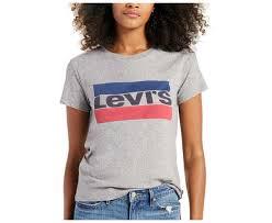 <b>LEVI'S</b> Woman THE PERFECT TEE -T-Shirts <b>SPORTSWEAR LOGO</b> ...