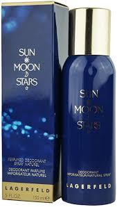<b>Karl Lagerfeld Sun Moon</b> Stars deodorant, natural spray, 150 ml ...