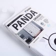 <b>Штора для ванны</b> Panda 180x200 см, полиэстер, цвет белый в ...