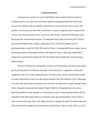 Louisiana Purchase Research Paper History   StudentShare StudentShare