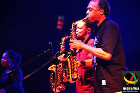 felabration a photo essay this is africa lifestyle like father like son femi kuti belts out some of his own great hits