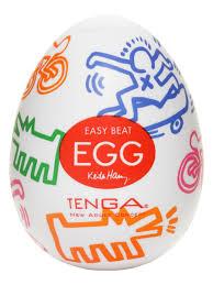 <b>Мастурбатор</b> яйцо Tenga Keith <b>Haring</b> Egg Street TENGA ...