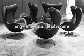 egg chair leather metal egg chair leather metal suppliers and manufacturers at alibabacom arne jacobsen egg chair leather black