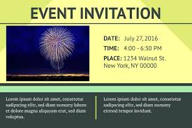 doc invitation card event professional events doc540210 invitation card for event professional events invitation card event