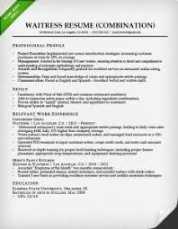 combination resume samples  amp  writing guide   rgwaitress combination resume sample