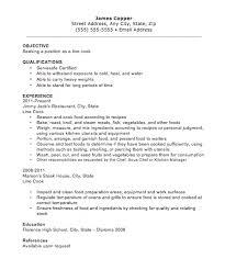 free line cook resume templates resume line cook resume restaurant cook resume sample