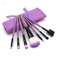 Professional 7 PCS Makeup Brushes Set Tools Make up Toiletry Kit ...