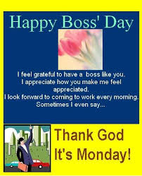 Image gallery for : boss day quotes