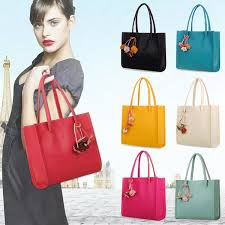 Women <b>Fashion Elegant</b> Girls Handbags <b>Leather Shoulder</b> Bag ...