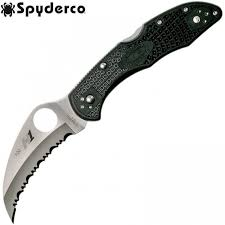 <b>Нож Spyderco Tasman</b> Salt 2 Black SpyderEdge 106SBK2 | Купить ...
