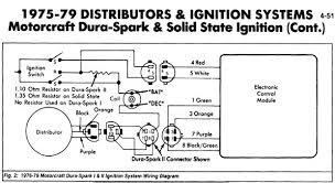 ford diagrams 1975 1979 duraspark mustang ignition control module schematic