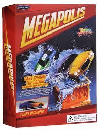 Купить Набор <b>машин Autogrand</b> Megapolis - Color twisters Water ...