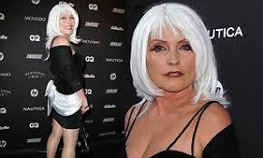 <b>Debbie Harry</b> turns up at GQ Gentleman's Ball in <b>white</b> wig   Daily ...