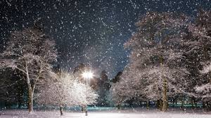 Image result for snow night
