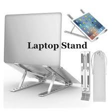 <b>Laptop Stand Adjustable Aluminum</b> Laptop <b>Notebook Stand</b> Tablet ...