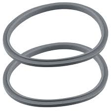 <b>2 Pack</b> Gray Gasket <b>Replacement Parts</b> Compatible with NutriBullet ...