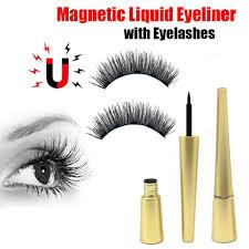 H&G  <b>1 Set Magnetic Liquid</b> Eyeliner with <b>Magnetic</b> False <b>Eyelashes</b> ...