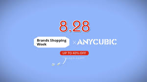 ANYCUBIC - A great sales promotion for <b>Anycubic 3D Printers</b> ...