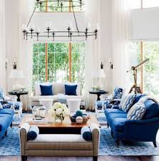 inspired decor decorating nautical perfect nautical living room decorating ideas with chandelier and blue