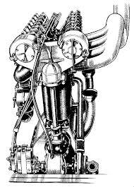 automotive history the curious f head engine on simple engine diagram valve