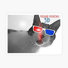 """""""<b>Feline Vision 3D</b>"""" iPhone Case & Cover by smilku 