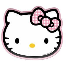 hello kitty pretty in pink shaped plates cm partyware hello kitty pretty in pink shaped plates 23cm