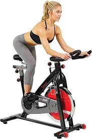 Sunny Health & Fitness SF-B1002 <b>Belt</b> Drive Indoor Cycling <b>Bike</b>, Grey
