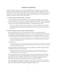 how to use a thesis statement in an essay writing a thesis statement for your research paper