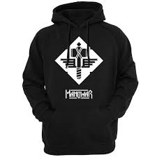2019 <b>Manowar Logo Men Unisex</b> Hoodies Sweatshirts Music Bands ...