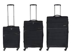 Conwood Expandable Spinner Luggage Set | Black– KaryKase