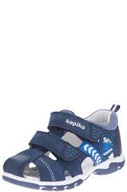 Купить <b>сандалии</b> на лето для <b>мальчика</b> «<b>Kapika</b>», цвет синий ...