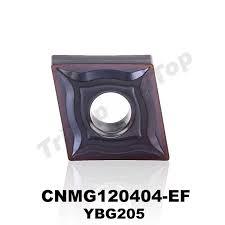10pcs/lot hot sell YBG205 <b>CNMG 120404</b> EF tungsten <b>carbide</b> ...