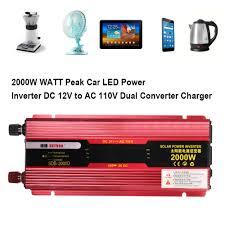 600~<b>3000W Car</b> LED <b>Power</b> Inverter WATT <b>Peak</b> DC 24V to AC ...