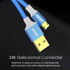 Online Shop <b>2 Pack</b> Reversible Micro USB Cable 5V 2A Fast ...