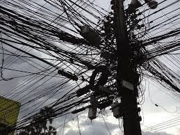 Image result for telephone wires in usa