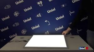 <b>UNIEL</b> - Светодиодные LED панели - YouTube