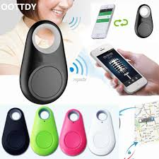 <b>Smart Bluetooth Tracer GPS</b> Locator Tag Alarm Wallet Key Car Kid ...
