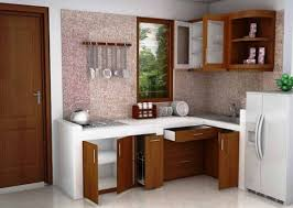 dekorasi dapur kecil minimalis: Desain dapur minimalis kecil tanpa kichen set rumah bagus minimalis