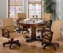 dining room chairs wheels  collectionsfcoasterfmarietta  kcp b