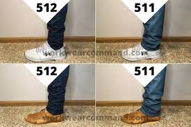 <b>Levis 511</b> vs 512 Jeans Compared (w/ Real Photos) – Work Wear ...