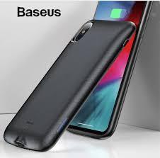 Оригинальный <b>чехол</b>-<b>аккумулятор Baseus</b> iPhone X 4000 mah ...