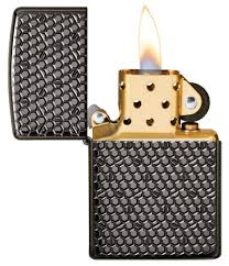 <b>Зажигалка Armor™</b> Black Ice® Hexagon Design <b>ZIPPO</b> 49021 ...