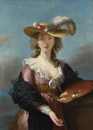 women artists elisabeth vigee le brun 1755 1842 self portrait c 1780s one of many she painted for